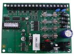 SATEL CA4VP 4 zónás riasztóközpont, LED