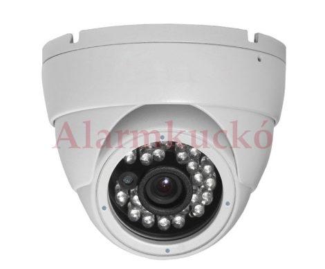 DE-6001D20W 1/3.7 CMOS, 600TVL, 24 IR led, 3.6mm, fehér (kültéri/beltéri)