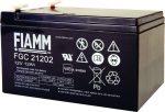 Fiamm FG 21202  AKKUMULÁTOR, 12V.-12Ah, FIAMM GS
