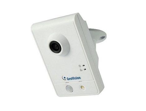 GEOVISION, GV IP CAWL120 IP WiFi Cube kamera PIR szenzorral, 1.3MP, 30fps, 1280x1024, WiFi 802.11/b/g/n