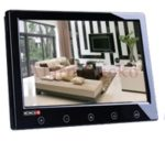 PROVISION-ISR PR-TFT9A/B autóba is beépíthető 9-os (16:9 képarányú) TFT LCD színes monitor