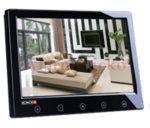 PROVISION-ISR PR-TFT9D/B autóba is beépíthető 9-os (16:9 képarányú) TFT LCD színes monitor