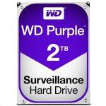 """Western Digital WD20PURZ 2TB 3,5"""" Desktop 5400rpm, 64 MB puffer, SATA-600 - Purple"""