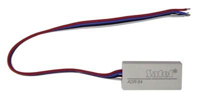 SATEL CA64ADRMOD kiegészítő, címző egység CA64ADR modulhoz, NO/NC érzékelőkhöz
