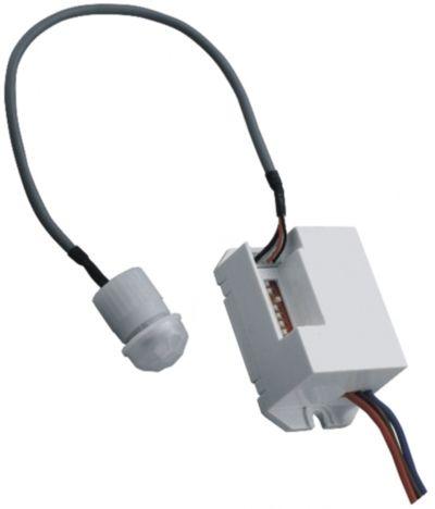 ORNO ORCR211 PIR mozgásérzékelős lámpakapcsoló, külső érzékelőfej 20 cm-es csatlakozó kábellel, 360° vízszintes érzékelési tartomány