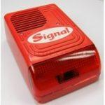 Signal PS-128F/24V kültéri hang-fényjelző tűzjelző rendszerekhez
