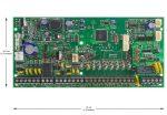 Paradox SP6000/K32LCD+ új LCD kezelő riasztó szett