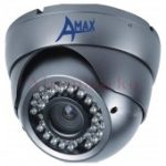 A-MAX AXIRDCSHD 1/3 col színes varifokális IR dome kamera 2,8-12mm