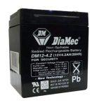 DIAMEC DM12-4.5 akkumulátor biztonságtechnikai rendszerekhez és elektromos játékokhoz