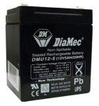 DIAMEC DM12-5UPS akkumulátor biztonságtechnikai rendszerekhez és elektromos játékokhoz
