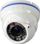 EIP 1440DNW NEON 1MP IP kültéri IR dóm kamera, valós D&N, 2.8-12mm (17°-65°), max.25-30m IR táv (36db IR LED), 12V DC, fehér, 2 év gar.