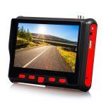 """EuroVideo EVM-4,3HD 4,3""""-os teszt monitor TVI-CVBS-AHD rendszerekhez"""