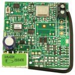 FAAC F787741 RP1 433 LC, Vevő kártya