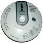 VISONIC MCT-442, rádiós CO (szén-monoxid) érzékelő