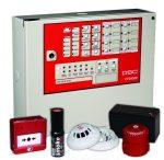 DSC PACK-CFD4802 Tűzjelző csomag