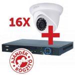 Dahua PACK-V16-HDW1220S 16 db HDW1220S kamera, NVR4216 rögzítővel