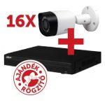 Dahua PACK-V16HFW1220RM 16 db HFW1220RM kamera, NVR4216 rögzítővel