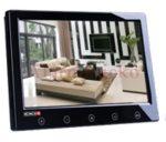 PROVISION-ISR PR-TFT9HD/B autóba is beépíthető 9-os (16:9 képarányú) TFT LCD színes monitor