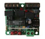 PROTECO PRX4333 3 csatornás vevő, 433 MHz, AM, 24Vac-dc, 120 kód - Impulzusos és bistabil, relés kimenet, max 200mA terhelhetőség, kontroll LED