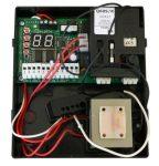 PROTECO Q60RS egymotoros vezérlés tolókapukhoz fixkódos rádióvevővel. - Digitális programozás, kiskapu funkció, lassítás, hiba visszajelzés