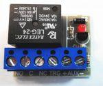 RP0124TRMIN Relépanel, 1 csatorna, 24V, -trg