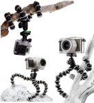SJ/GP-116, kisméretű flexibilis gömbcsuklós ÁLLVÁNY - SJCAM és GoPro akciókamerához - SJCAM SJ4000, SJ5000, X1000 sorozatokhoz