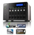 QNAP NAS TS-669 PRO, hálózati adattároló, szerver